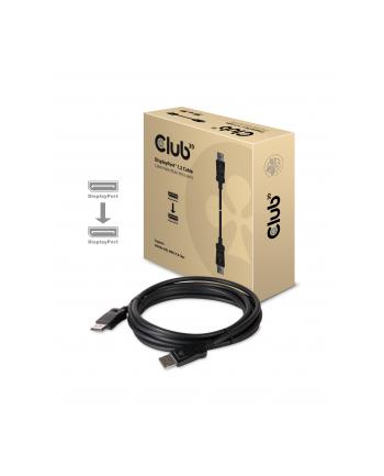 Club3D Kabel DP 1.2 męski -> DP 1.2 żeński 21,6GB 3000mm