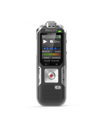DYKTAFON   DVT6000, stereo,  3Mic AutoZoom+, 4GB   /PHILIPS