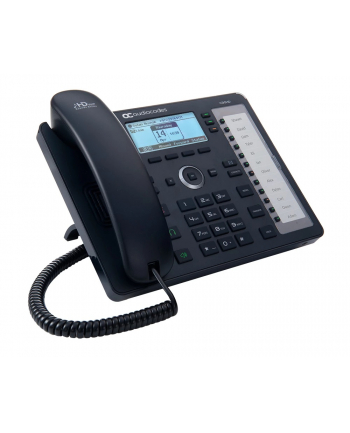 AudioCodes Lync 430HD IP-Phone PoE GbE Black6 lines Including 2nd Ethernet port for PC, 18 Programmable keys, 132x64 Graphic LCD Display and Power over Ethernet (PoE)