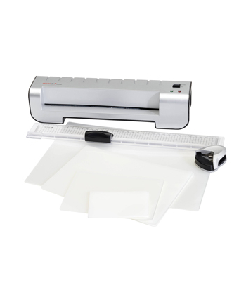 Genie zestaw do laminowania 4 w 1 (laminator, trymer, folie, zaokrąglacz rogów)