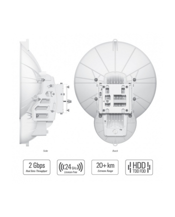 Ubiquiti Networks Ubiquit AirFiber AF24HD 24 GHz Point-to-Point 2Gbps+ Radio system, license free