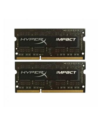 Kingston HyperX 2x4GB 1866MHz DDR3L CL11 SODIMM 1.35V HyperX Impact Black