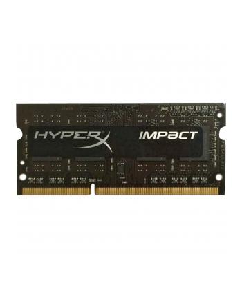 Kingston HyperX 8GB 2133MHz DDR3L CL11 SODIMM 1.35V Impact Black Series