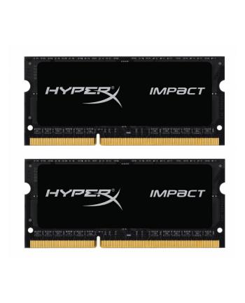 Kingston HyperX 2x8GB 1866MHz DDR3L CL11 SODIMM 1.35V HyperX Impact Black