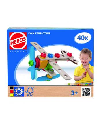 HEROS Konstruktor Samolot 40 el.