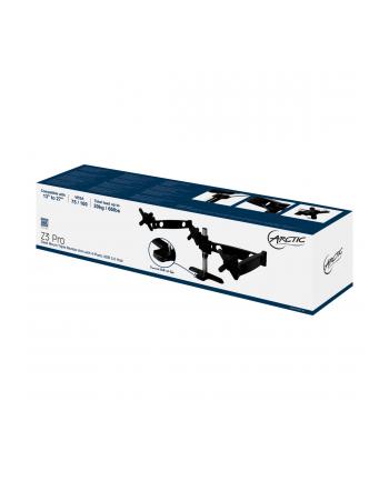 Arctic Cooling Dis Acc Mount Arctic Z3 Pro (EU), triple-mon. arm +4P USB3 Hub