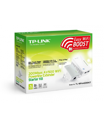 Powerline 500mb TP-Link WPA4220KIT(DE)