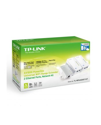 Powerline 500mb TP-Link WPA4220TKIT