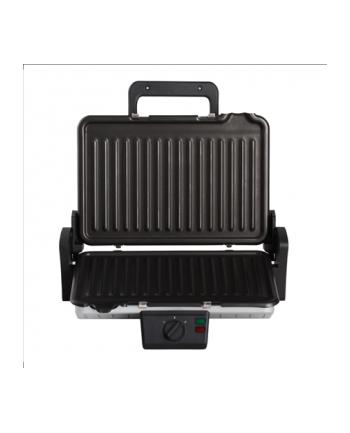 Grill elektryczny Hyundai GRI660 (1600W Stołowy-zamykany Srebrno-czarny)