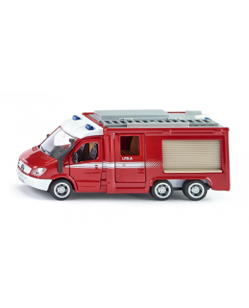 SIKU Wóz strażacki Mercedes Sprinter 6x6