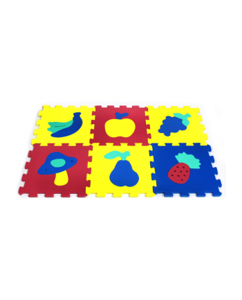 ARTYK 6 EL. Puzzle piankowe Owoce