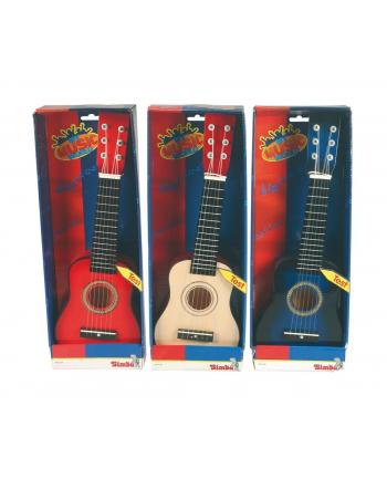 SIMBA Gitara drewniana 3 rodzaje.  (WYSYŁKA LOSOWA, BRAK MOŻLIWOSCI WYBORU)