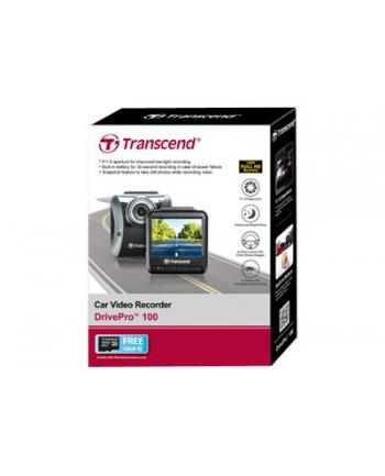 Transcend DrivePro 100 Samochodowy Rejestrator Full HD, 2.4'' 16GB usz. opakowan
