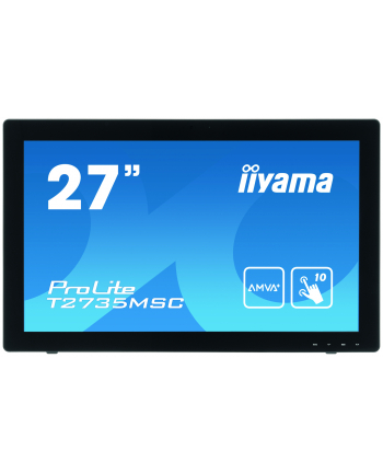 iiyama Monitor Prolite T2735MSC-B2 27'', 5ms, VGA, DVI-D, HDMI, black