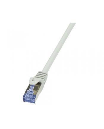 LOGILINK Patchcord Cat.6A 10G S/FTP PIMF PrimeLine 10m szary