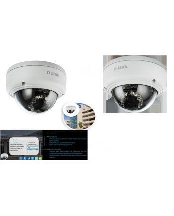 D-Link Kamera IP 2 Mpx Outdoor, PoE, IP66, IK10, IR 20m