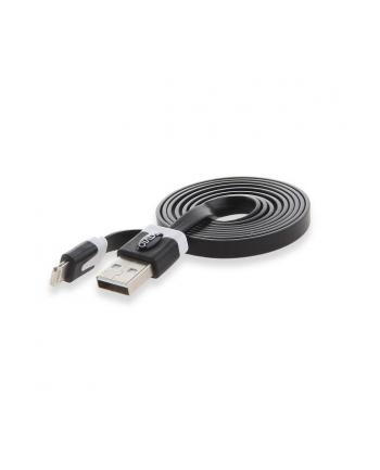 SAVIO KABEL USB - LIGHTNING 8PIN - 1 M CZARNY CL-73