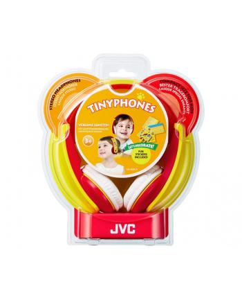 JVC Słuchawki HA-KD5 red
