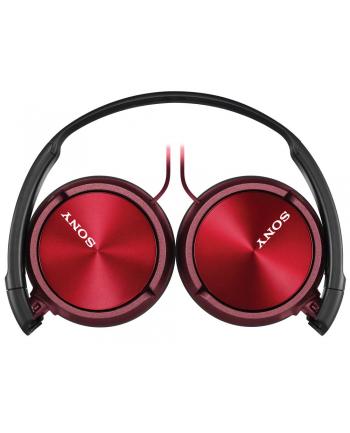 Sony Słuchawki handsfree, mikrofon MDR-ZX310AP Red