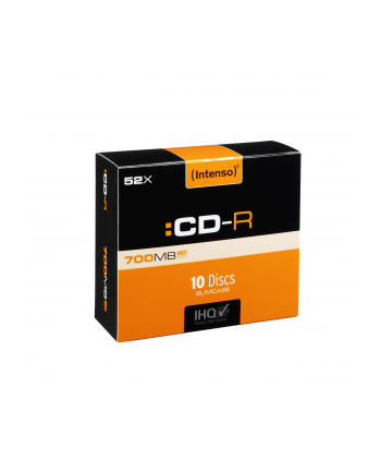 CDR INTENSO 700MB (10-PACK SLIM)