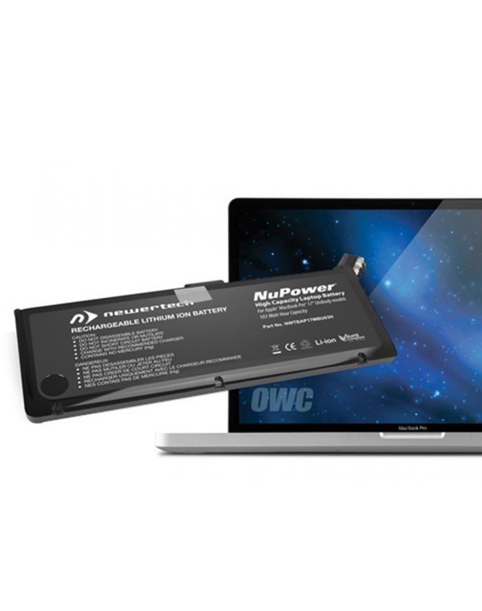 OWC NewerTech bateria MacBook Pro 15' Unibody Early & Late 2011, Mid-2012 główny