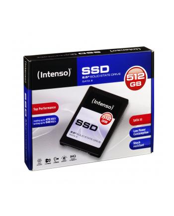 """DYSK SSD WEWNĘTRZNY INTENSO 512GB SATA III 2.5"""" TOP"""