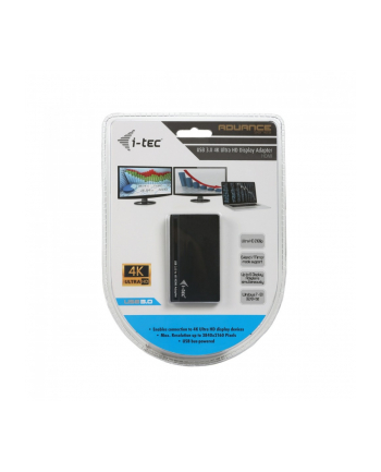 iTec i-tec USB3.0 4K Ultra HD Display Adapter - HDMI