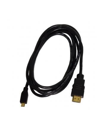 ART KABEL HDMI męski /micro HDMI (typ D) męski 1,8M with ETHERNET