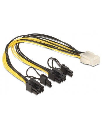 Delock rozdzielacz kabla zasilającego 2xPCI Express 8PIN -> 1xPCI Express 6PIN