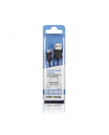 Whitenergy Kabel do przesyłu danych, wtyczka USB 2.0 na micro USB
