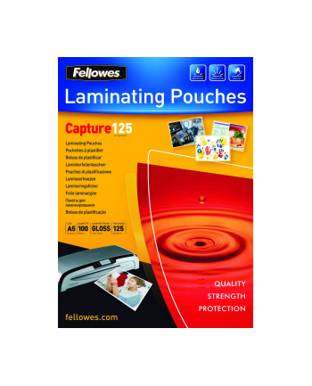 Fellowes Folie do laminowania 125 µ, 154x216 mm - A5, 100 szt.