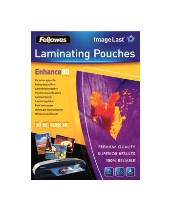 Fellowes Folie do laminowania 80 µ, 303x426 mm - A3, 25 szt.