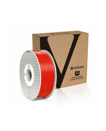 Filament VERBATIM / ABS / Czerwony / 1,75 mm / 1 kg
