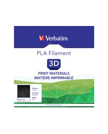 Filament VERBATIM / PLA / Czarny / 1,75 mm / 1 kg