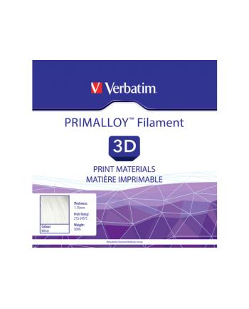 Filament VERBATIM / PRIMALLOY / Biały / 1,75 mm / 0,5 kg