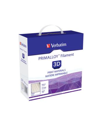Filament VERBATIM / PRIMALLOY / Biały / 2,85 mm / 0,5 kg