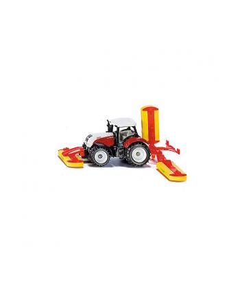 SIKU Traktor Steyr z kosiarką