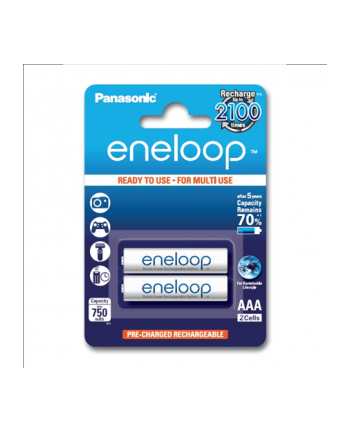 Panasonic Eneloop R03/AAA 750mAh, 2 Szt., Blister