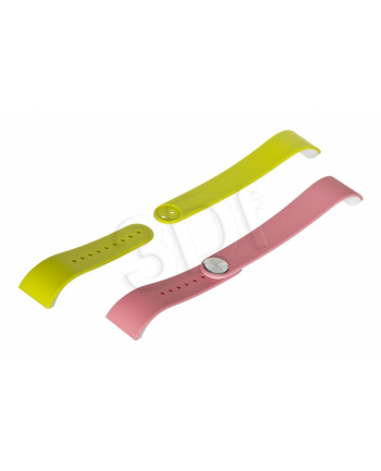 SONY MOBILE SONY SWR310 SMARTBAND STRAP PINK/LIME - WHITE SMALL