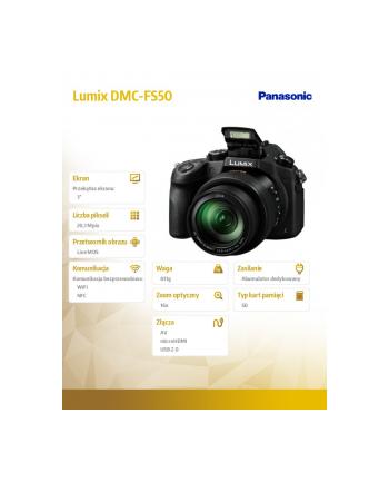Lumix DMC-FS50 black