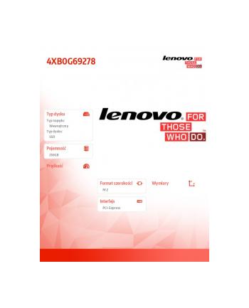 Lenovo ThinkStation 256GB M.2 Solid State Drive