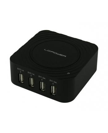 LC-POWER LADOWARKA UNIWERSALNA USB LC-CH-USB 4xUSB 2.1A i 1.0A