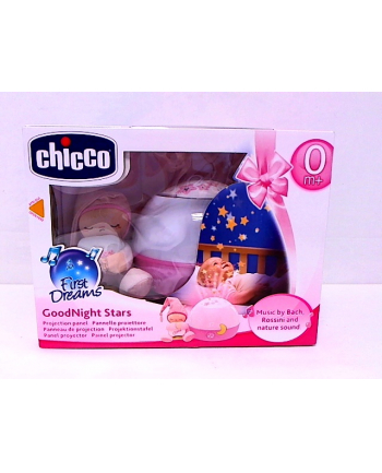CHICCO Projektor gwiazdek różowy