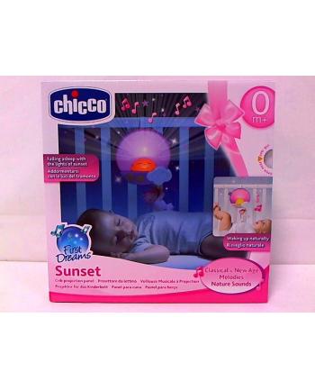 CHICCO Panel na łóżeczko sunset różowy
