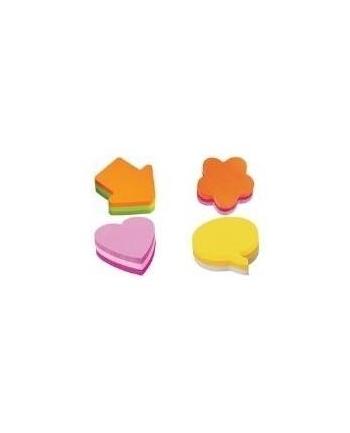 3M-POST-IT Kostka samop. POST-IT® (2007F), 1x225 kart., w kształcie kwiatka