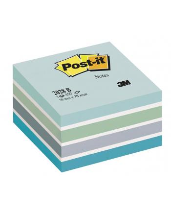 3M-POST-IT Kostka samop. POST-IT® (2028-B), 76x76mm, 1x450 kart., niebieska