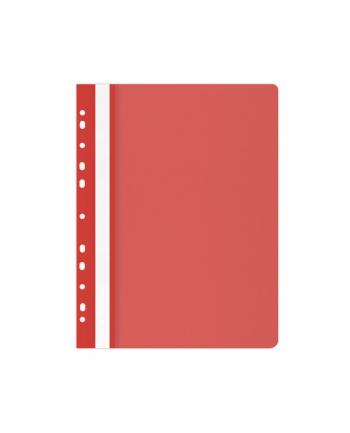 Skoroszyt OFFICE PRODUCTS, PP, A4, miękki, 100/170mikr., wpinany, czerwony