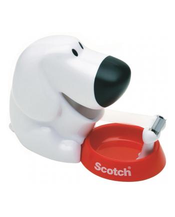 3M-SCOTCH Dyspenser do taśm Scotch® w kształcie pieska (C31-Dog), taśma GRATIS