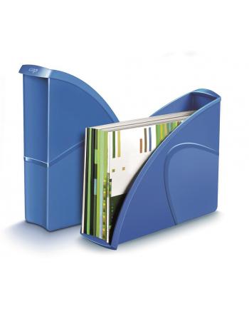 Pojemnik na dokumenty CEPPro Gloss, polistyren, niebieski