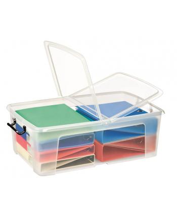 Pojemnik biurowy CEP Smartbox, 50l, transparentny